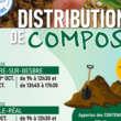 Sictom, distribution de compost